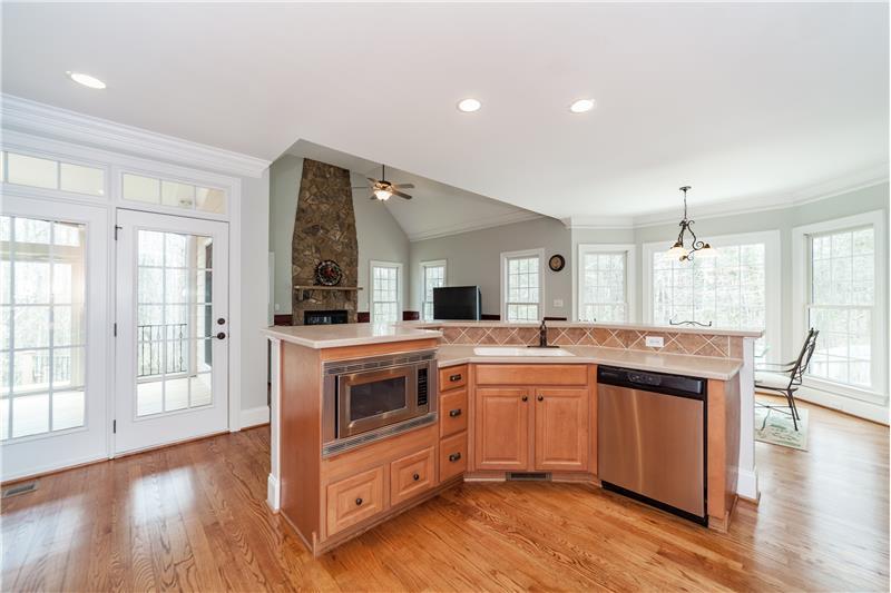 3712 Marigold Lane, Wake Forest, NC Open Kitchen