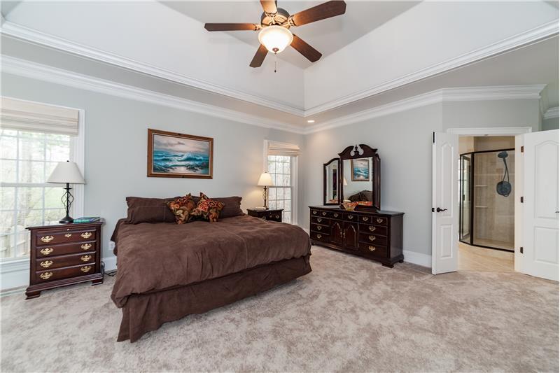 3712 Marigold Lane, Wake Forest, NC Master Bedroom