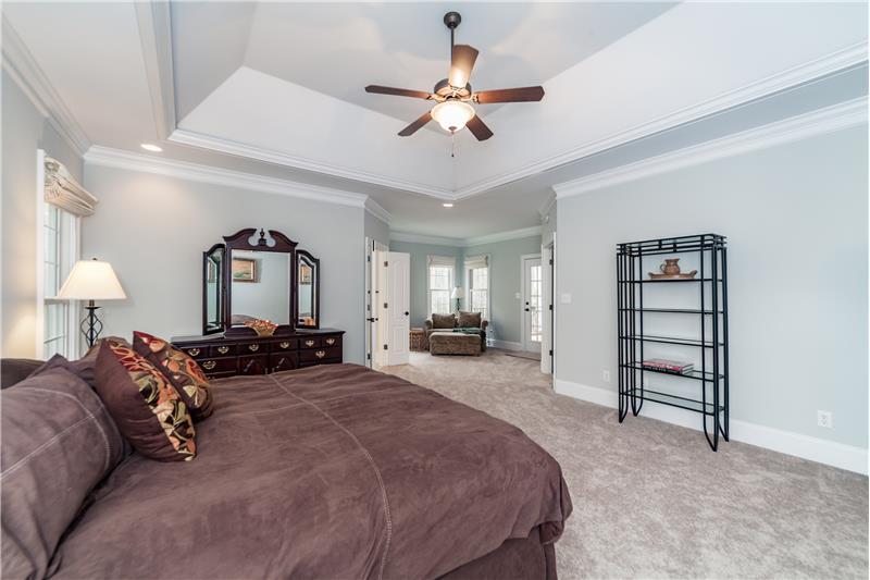 3712 Marigold Lane, Wake Forest, NC Master Bedroom Suite