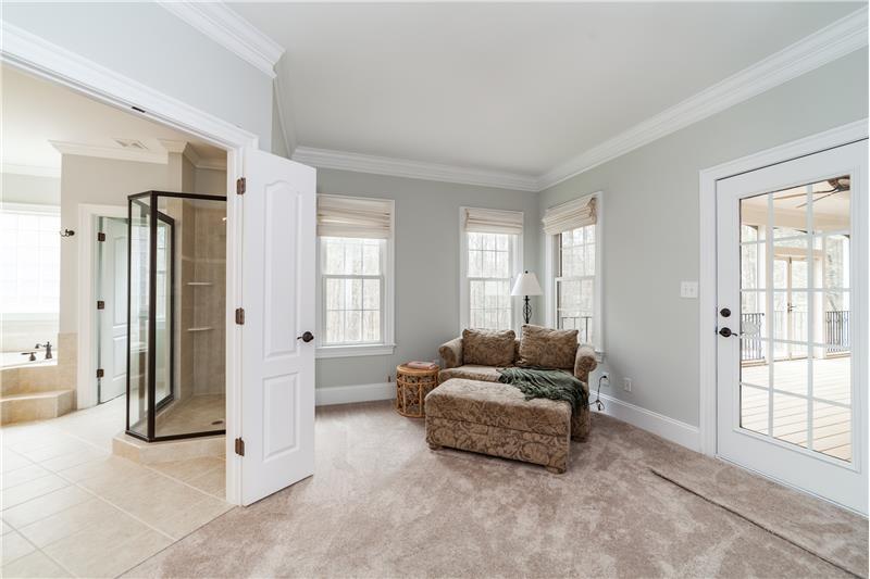 3712 Marigold Lane, Wake Forest, NC Master Sitting Area