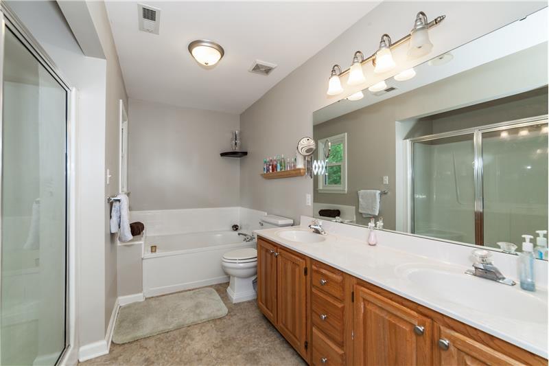 5912 Tahoe Drive, Durham, NC Master Bathroom