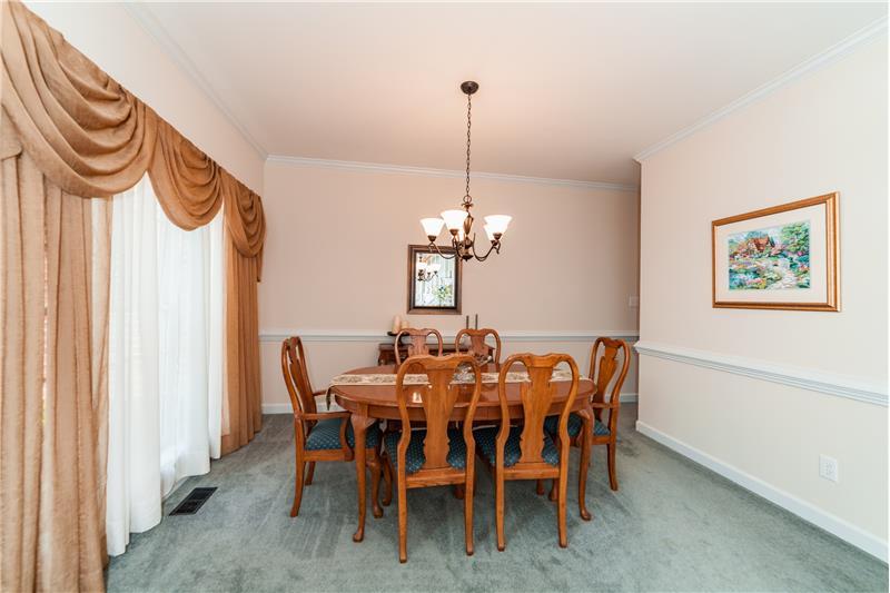 201 Seymour Creek Drive, Cary, NC Dining Room