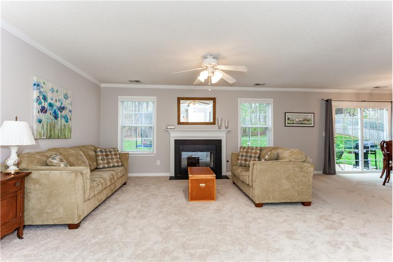 109 Chilmark Ridge Drive, Holly Springs, NC Family Room