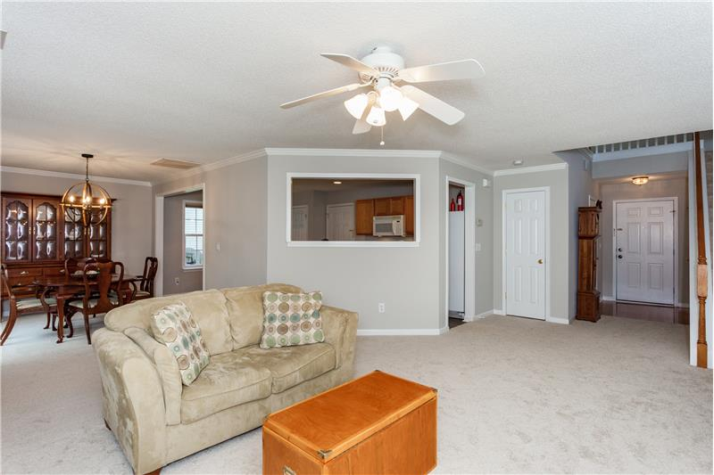 109 Chilmark Ridge Drive, Holly Springs, NC Open Floor