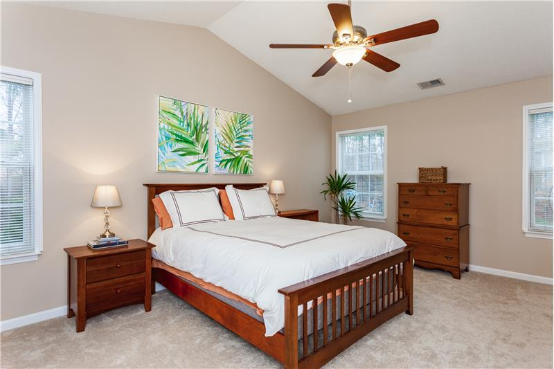 109 Chilmark Ridge Drive, Holly Springs, NC Master Bedroom