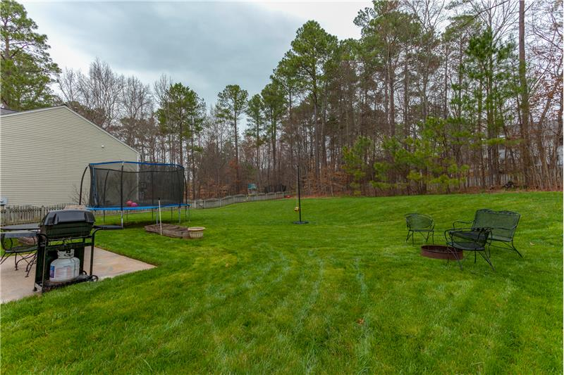 109 Chilmark Ridge Drive, Holly Springs, NC Backyard