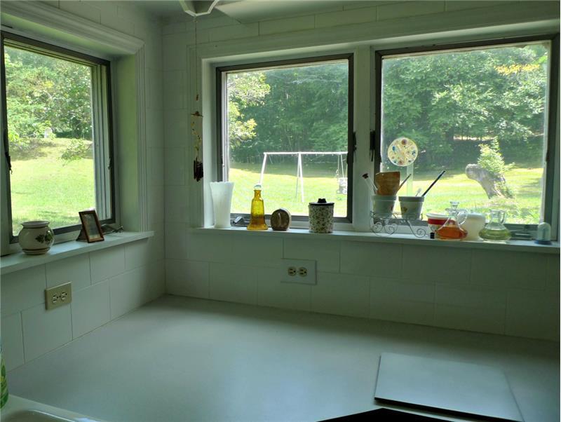 Views from Kitchen windows