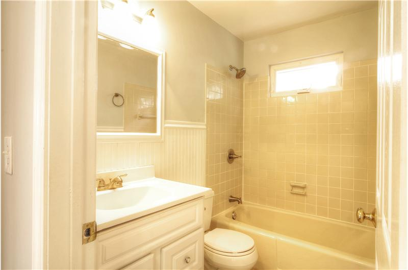 First Floor Full Bath Updated