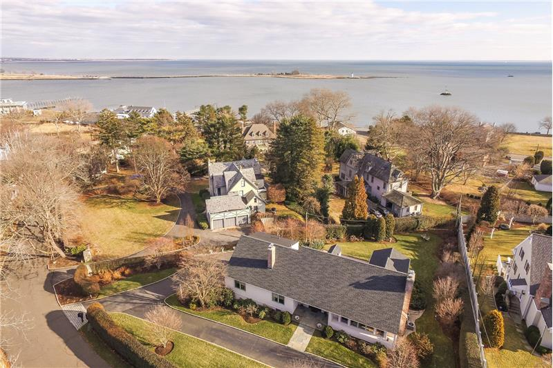 Elevated Water Views of Long Island Sound