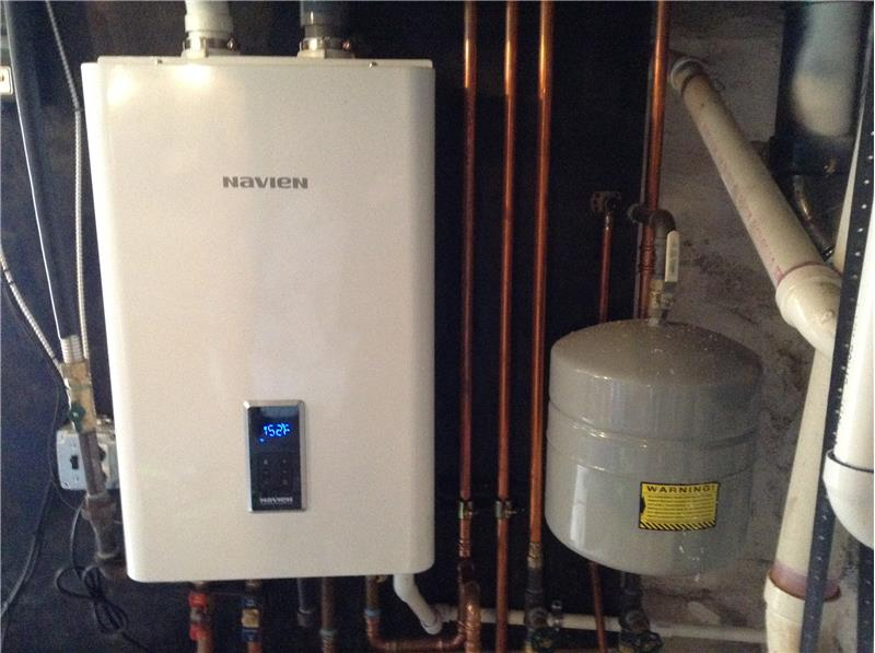 Tankless Hot Water for Heating & Bathing
