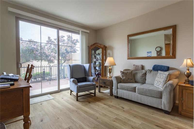 Simi Valley Townhome-Living Room