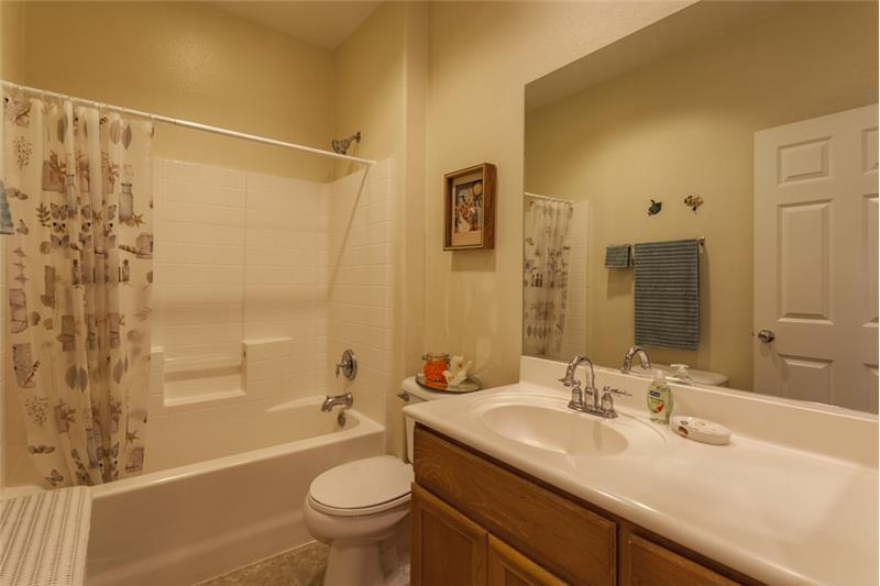 Simi Valley Townhome-Hall Bathroom