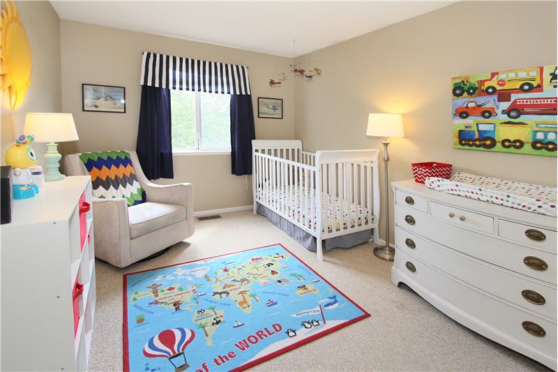 Bedroom #3 with Pikes Peak views!