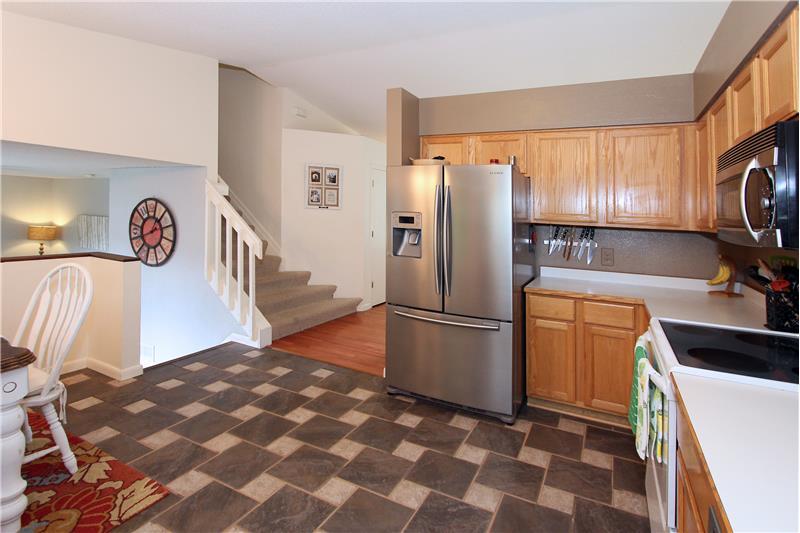 Open kitchen and floor plan!