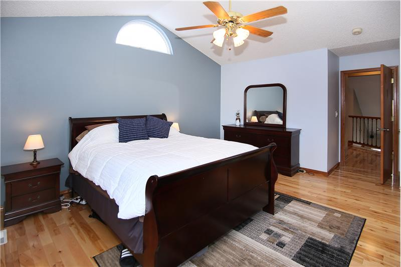 All of the bedrooms have ceiling fans!