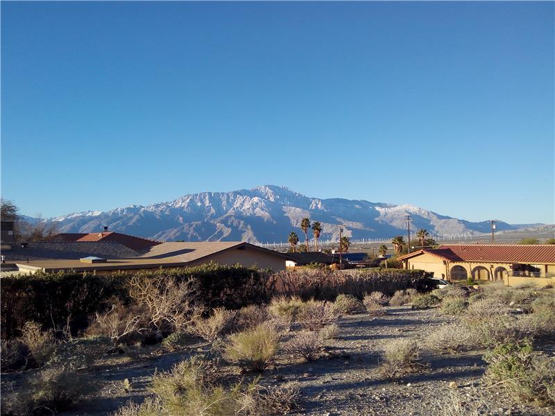 Mt San Jacinto View Southern View