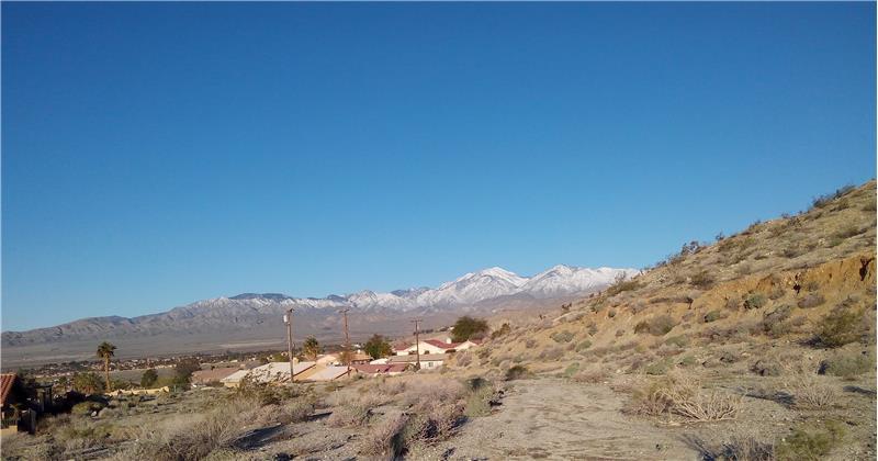 Looking NW San Bernardino MT Range