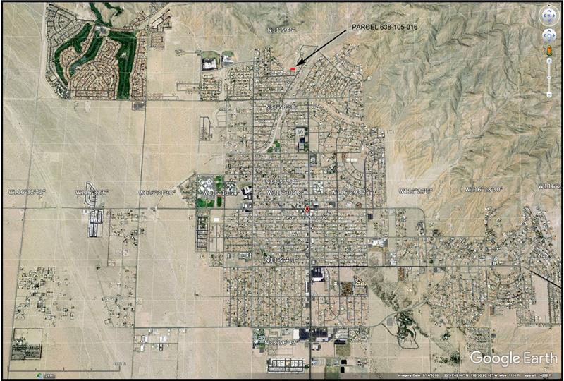 Desert Hot Springs and Lot Location