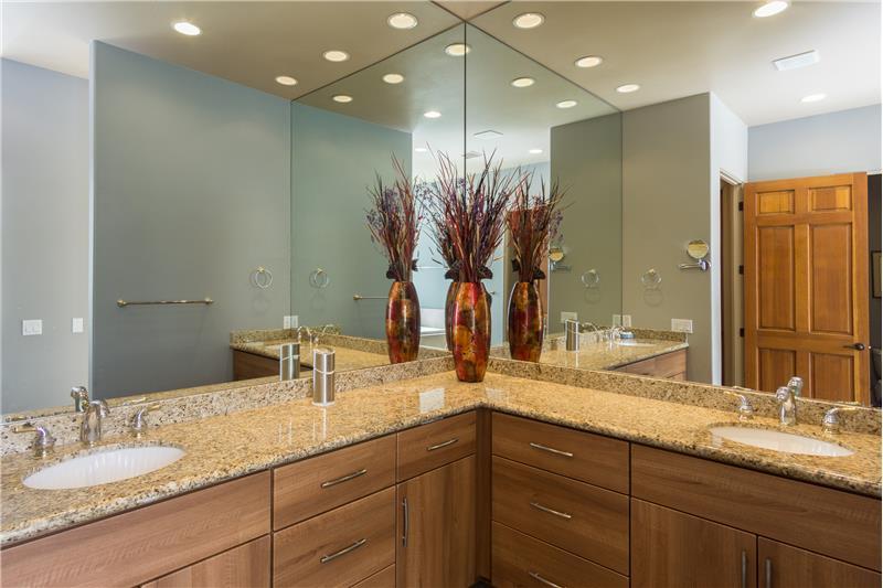 Master Bath Dual Vanity