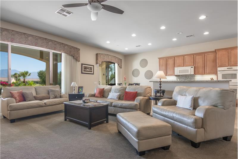 Huge Living Area Open Floorplan