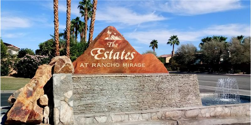 The Estates At Rancho Mirage Entrance