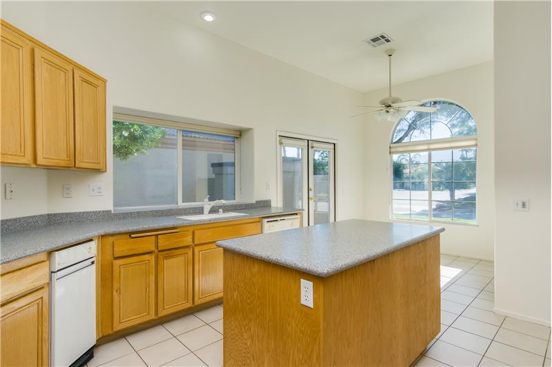 Big Kitchen With Breakfast nook