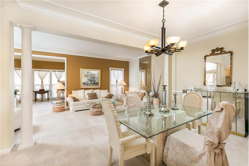 Dining Room/Living Room combination