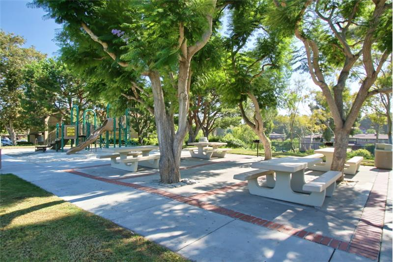 Stanford Park's Picnic area