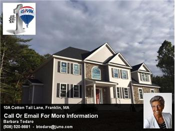10A Cotton Tail Lane, Franklin, MA