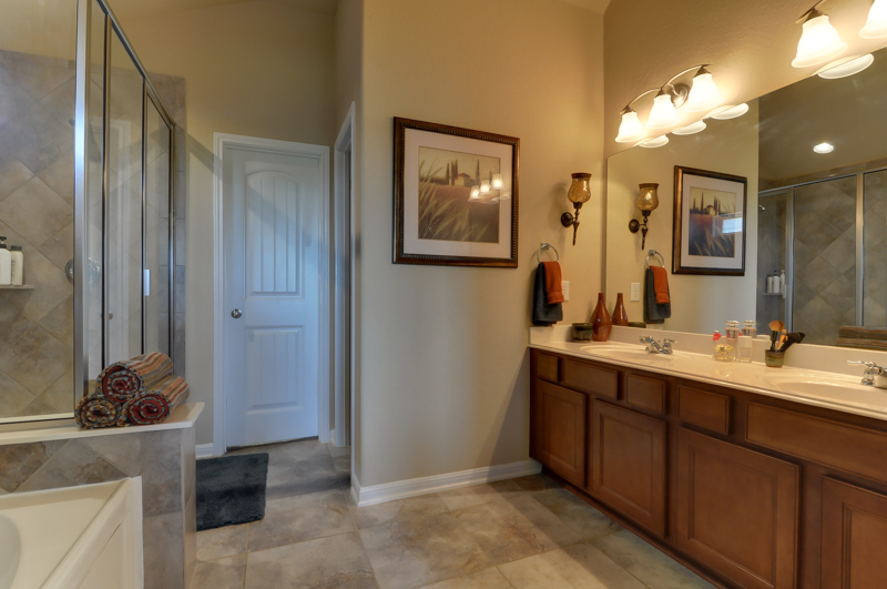 Master Bath with Dual Vanities