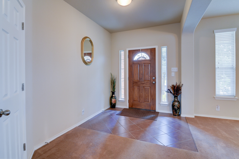 Open Entry Way