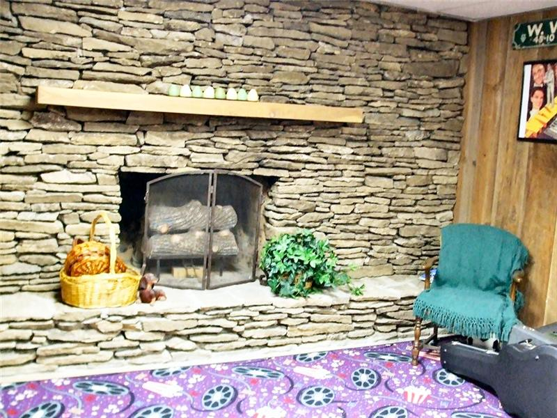 Fireplace/ Rec Room Lower Level