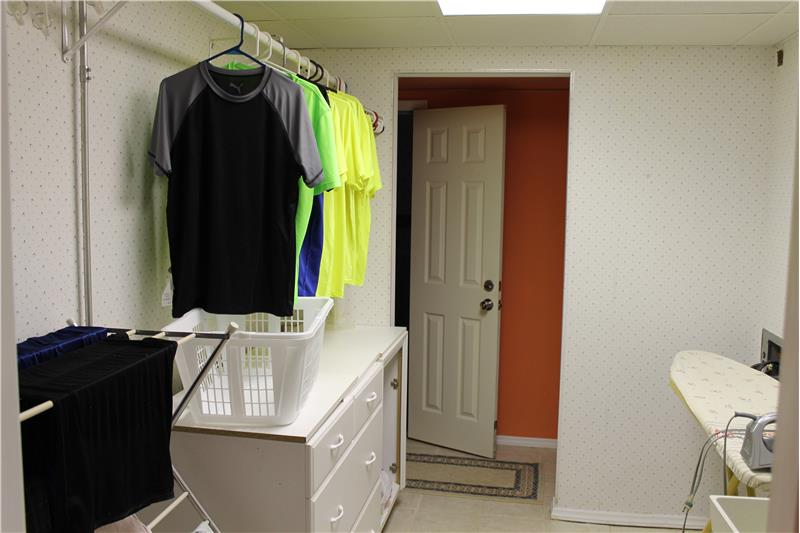 One of 3 Laundry Areas!