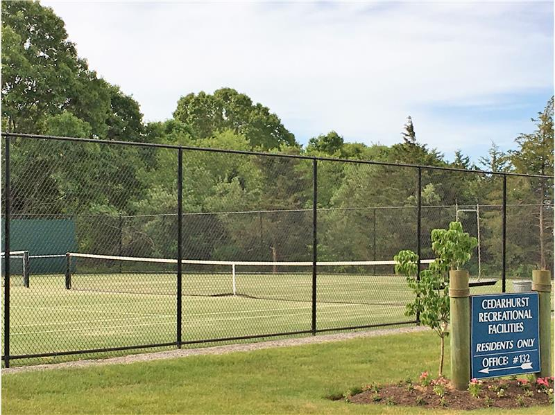 tennis courts for condo owners