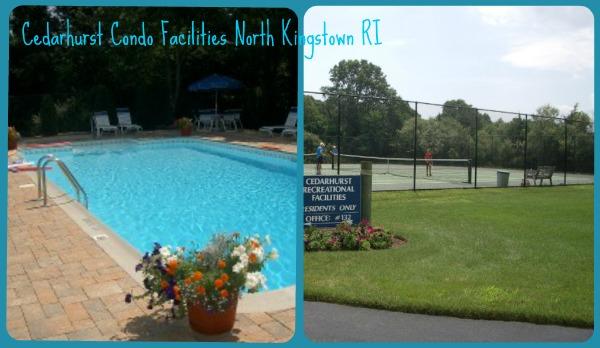 Condo Amenities: Pool, tennis, clubhouse +