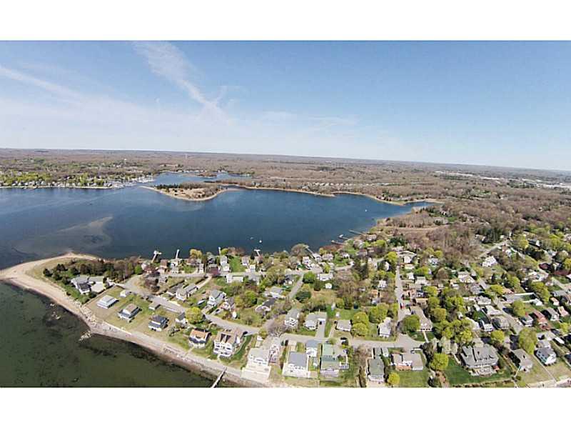 Aerial view of Cedarhurst & Fishing Cove