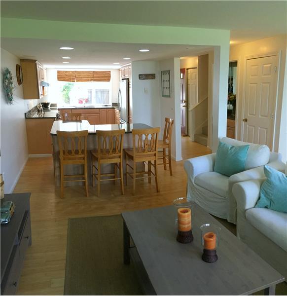 First floor snapshot of living area