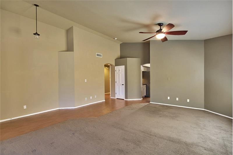 Spacious Living/Great Room