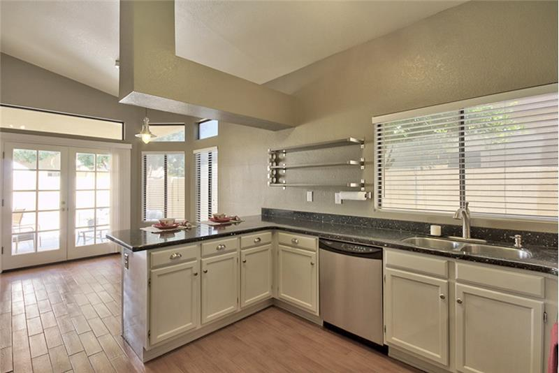 Beautifully updated kitchen with Stainless Steel Appliances