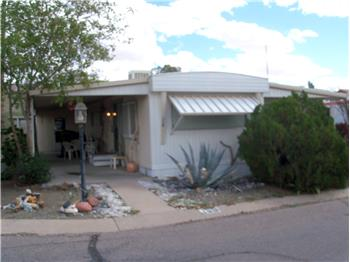 Vintage 2BR 1BA in 55+ Desert Valley Oasis