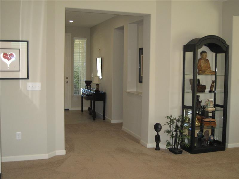 View to Front Entry From Living Room
