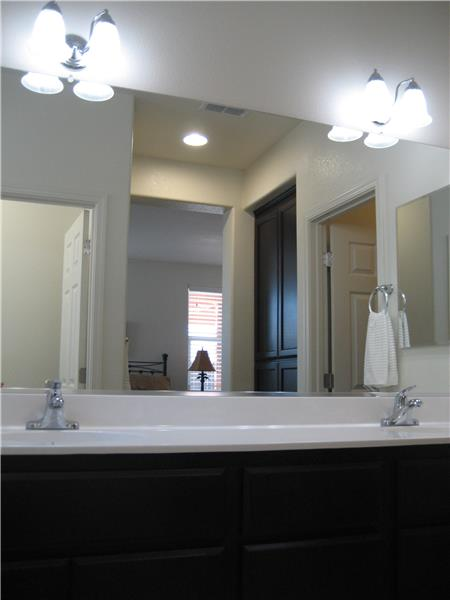 Master Vanity with Dual Sinks