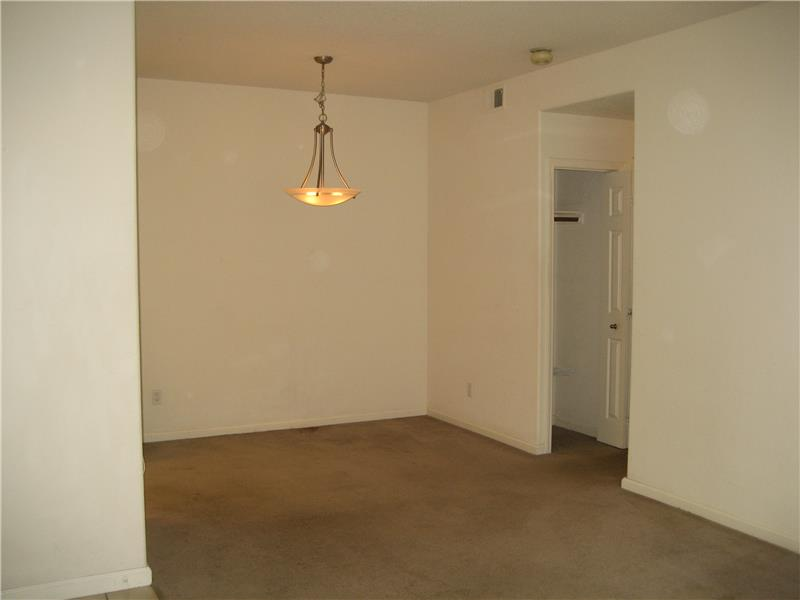 View of Dining Area from Living Room