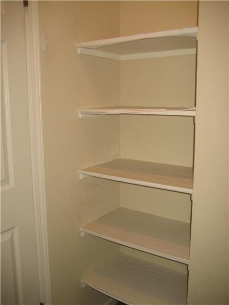 Master Bedroom Closet Shelves