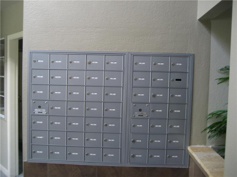Mailboxes Inside Clubhouse