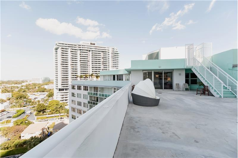 THIS Terrace belongs exclusively to the Penthouse ONE - Welcome to your backyard in the sky and over 1,700 SF!