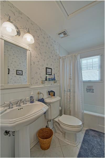 Full Bath on 2nd Level