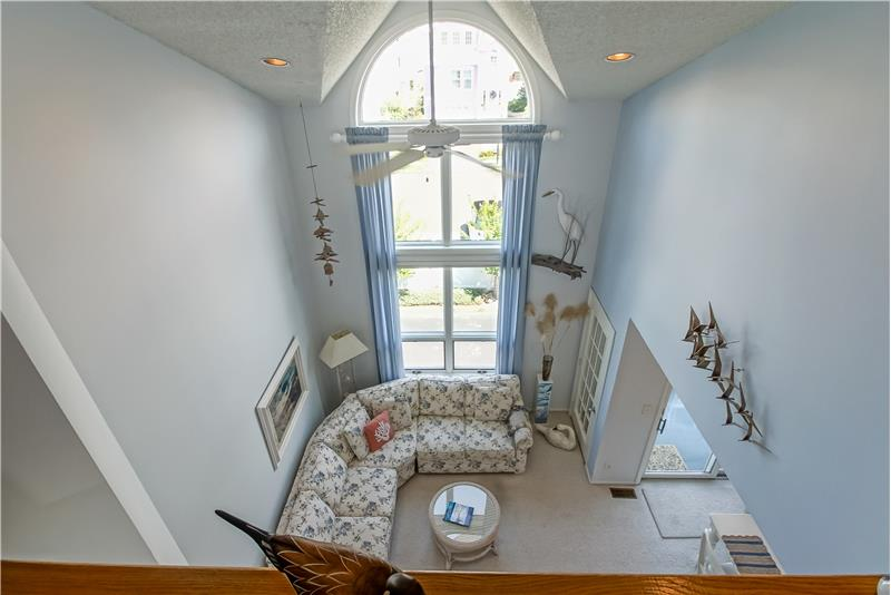 Views of Living Area from Loft