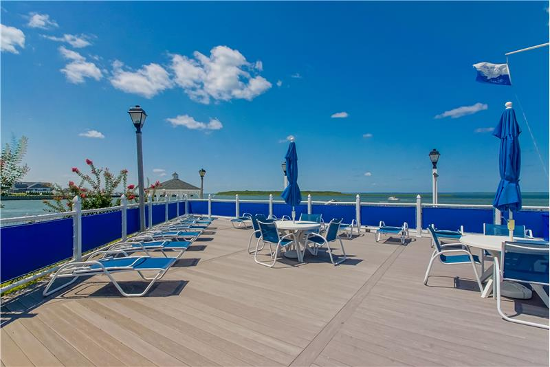 Entertaining by the Docks & Pool