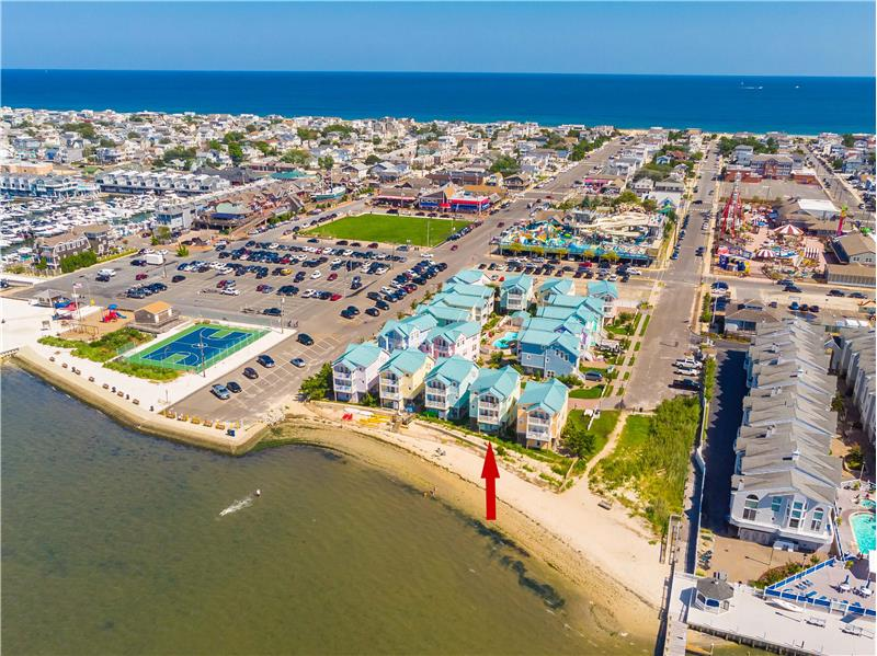Fun Lovers Paradise in this Bayfront Townhome in Beach Haven, NJ